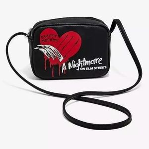 Freddy Krueger nightmare on elm st crossbody purse